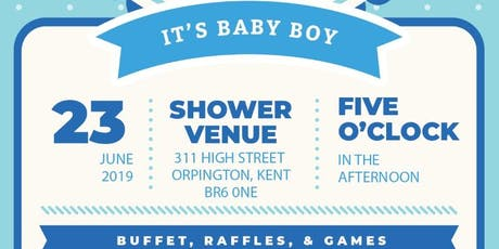 Welcoming Elijah Willows - Willows Baby Shower! x tickets