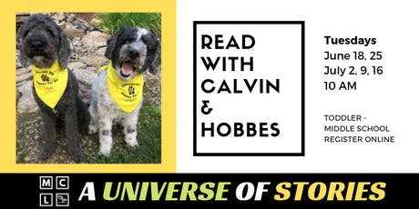 Read with Therapy Pets Calvin & Hobbes tickets