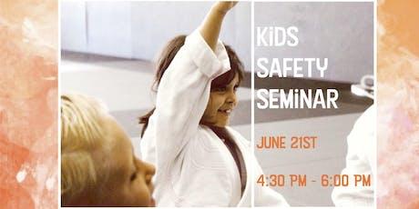 FREE Kids Summer Safety Seminar tickets