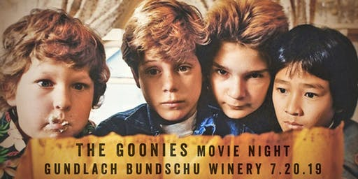 Gun Bun Move Night, Featuring The Goonies