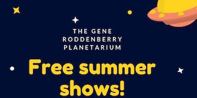 Free Planetarium Public Show!