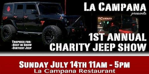 La Campana Charity Jeep Show