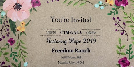 Restoring Hope 2019 CTM Gala tickets