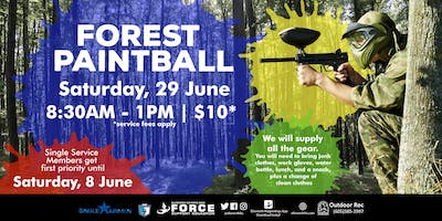 EAFB - Forest Paintball