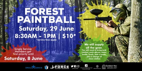 EAFB - Forest Paintball tickets