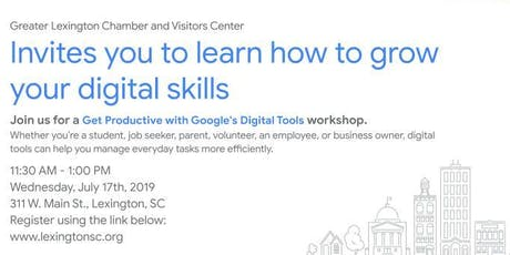 Live Stream: Get Productive With Google's Digital Tools tickets