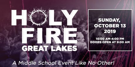 Holy Fire Great Lakes tickets