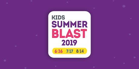 Summer Blast 2019 Workers tickets