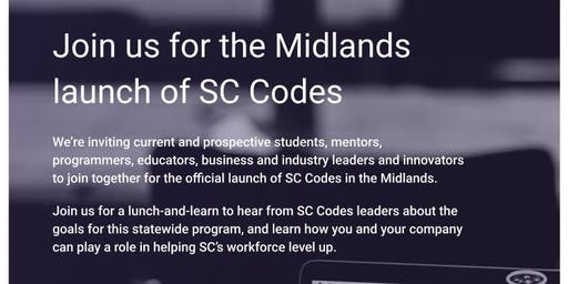 SC Codes Midlands launch - lunch and learn