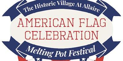 American Flag Celebration - Melting Pot Festival
