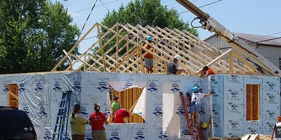 Giving Back - Muncie Habitat Build Day