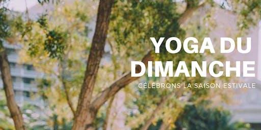Yoga du dimanche matin au parc