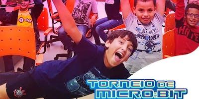 Torneio de microbit para alunos Ctrl+Play - a partir de 7 à 18 anos