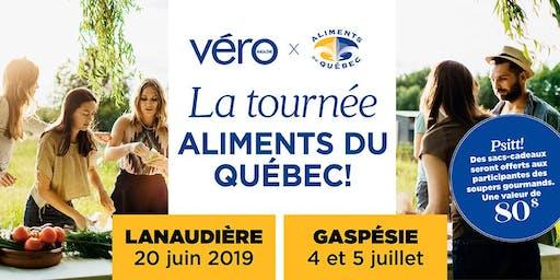 Souper gourmand - La tournée Aliments du Québec en Gaspésie