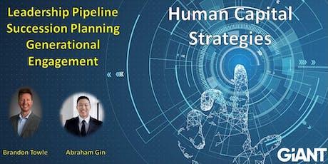 Human Capital Strategies Interactive Webinars tickets