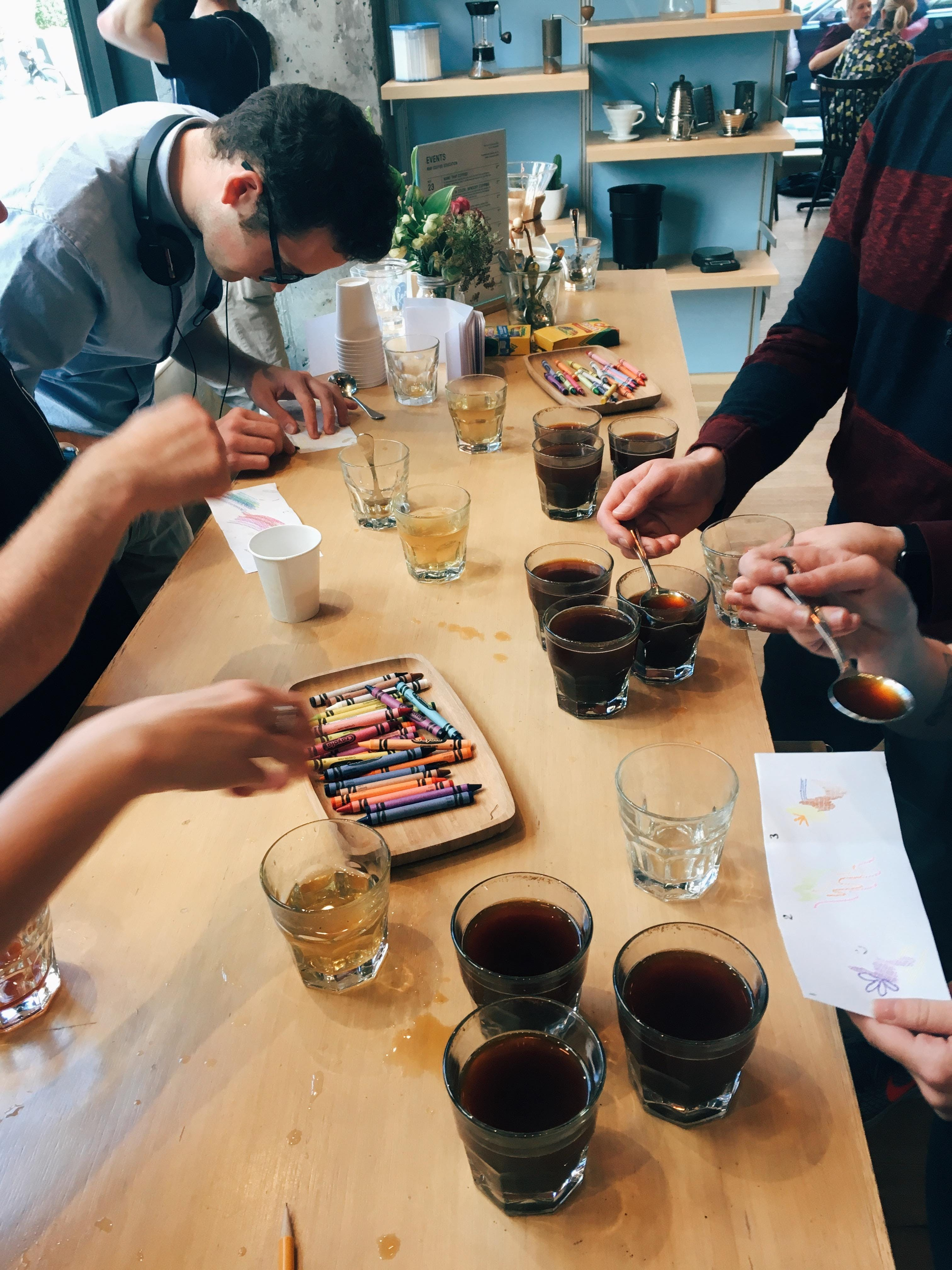 Coffee In Color: Sensory Cupping banner