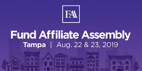 Fund Affiliate Assembly 2019 - Tampa tickets