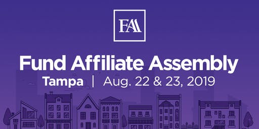 Fund Affiliate Assembly 2019 - Tampa