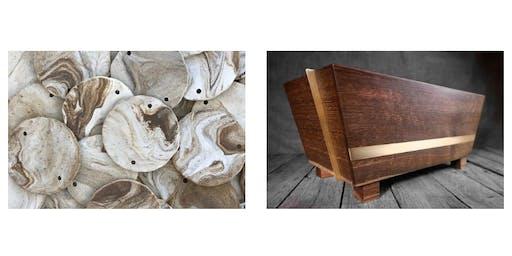INSTALLATION: Jodi Siegal Ceramics x The Wooden Palate