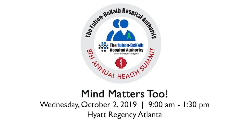 FDHA 8th Annual Health Summit Registration, Wed, Oct 2, 2019