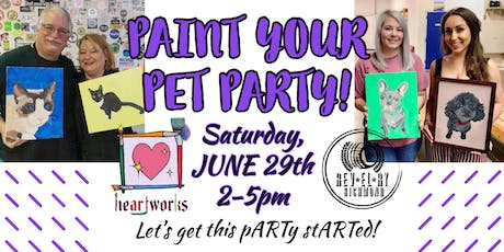 Paint your Pet Party @ Revelry on Richmond! tickets
