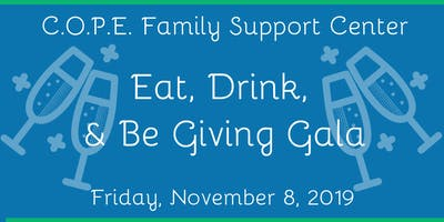 C.O.P.E.'s Third Annual: Eat, Drink, and Be Giving Gala