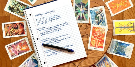 Tarot & Journaling: Using Tarot for Growth, Introspection, & Reflection