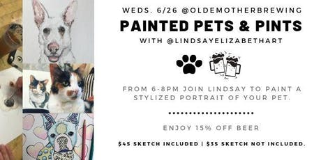Painted Pets & Pints tickets