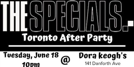 UK Calling's SPECIALS After Party tickets