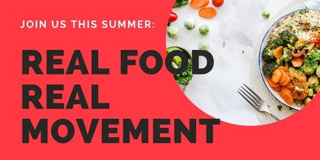 REAL FOOD, REAL MOVEMENT tickets