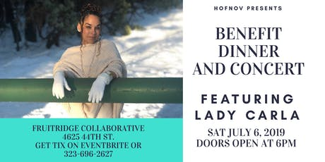Benefit Dinner and Concert feat Lady Carla tickets