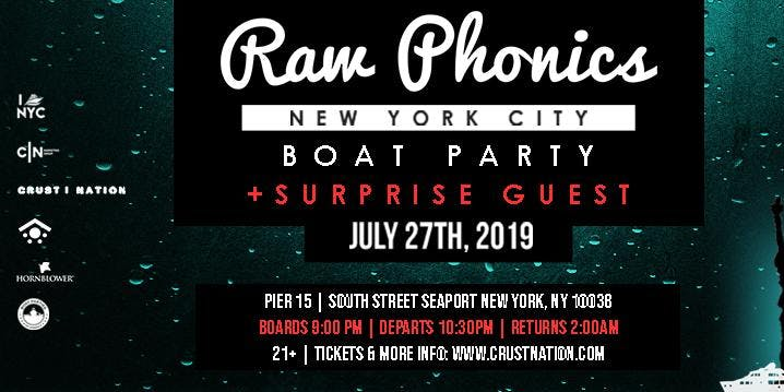Raw Phonics – New York – Jul 27 | edmtrain