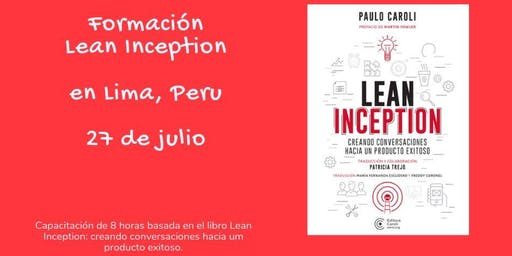 Formación Lean Inception en Lima, Peru