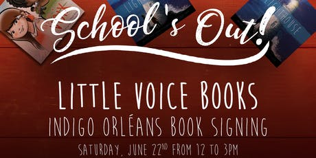 Book Signing - Little Voice Books tickets