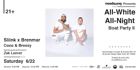 ALL WHITE ALL NIGHT w/ SLIINK x BRENMAR Boat Party - 1st Day of Summer tickets