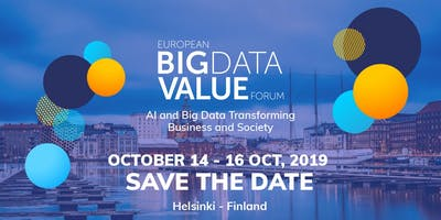 European Big Data Value Forum 2019