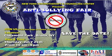 The 1st Bronx Anti-Bullying Fair tickets