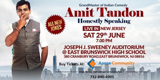 Amit Tandon Stand-Up Comedy: Live in New Jersey