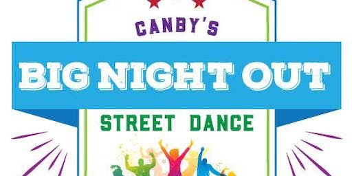 Canby's Big Night Out Street Dance