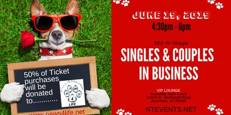 SINGLES & COUPLES IN BUSINESS MIXER tickets
