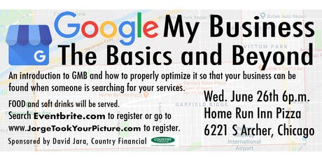 Google My Business, the Basics and Beyond tickets