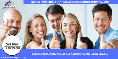 Digital Marketing Certified Associate Training In Oklahoma City, OK