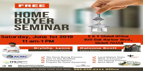 Summer HomeBuyer Seminar tickets