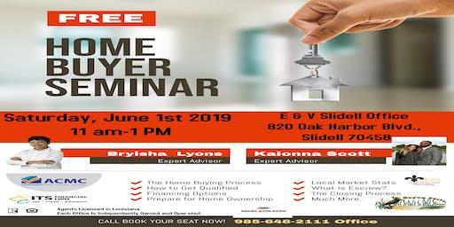 Summer HomeBuyer Seminar