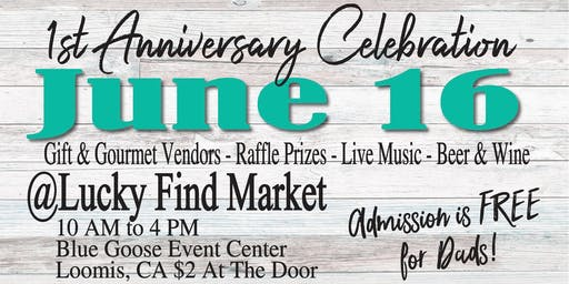 June Lucky Find Market