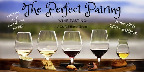 The Perfect Pairing Wine Tasting tickets