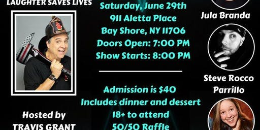 Comedy Night at Bay Shore-Brightwaters Rescue Ambulance
