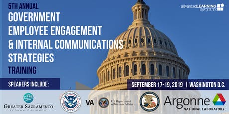 5th Annual Government Employee Engagement & Internal Communications Strategies tickets