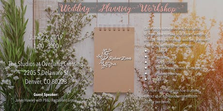 June Wedding Planning Workshop tickets