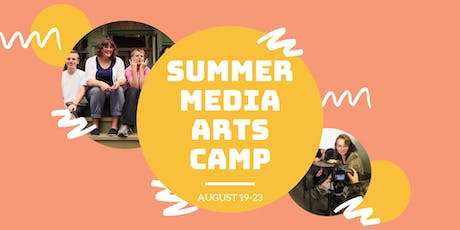 Summer Media Arts Camp (August) tickets